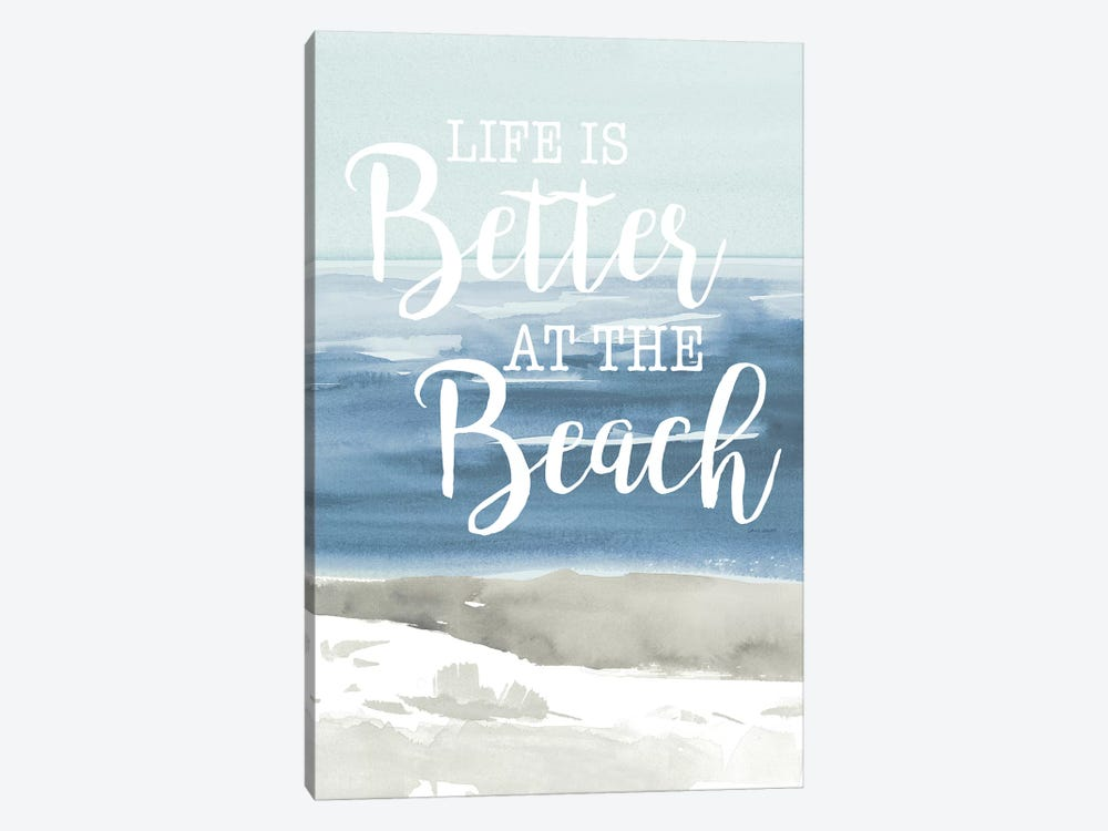 At the Beach by Lanie Loreth 1-piece Art Print