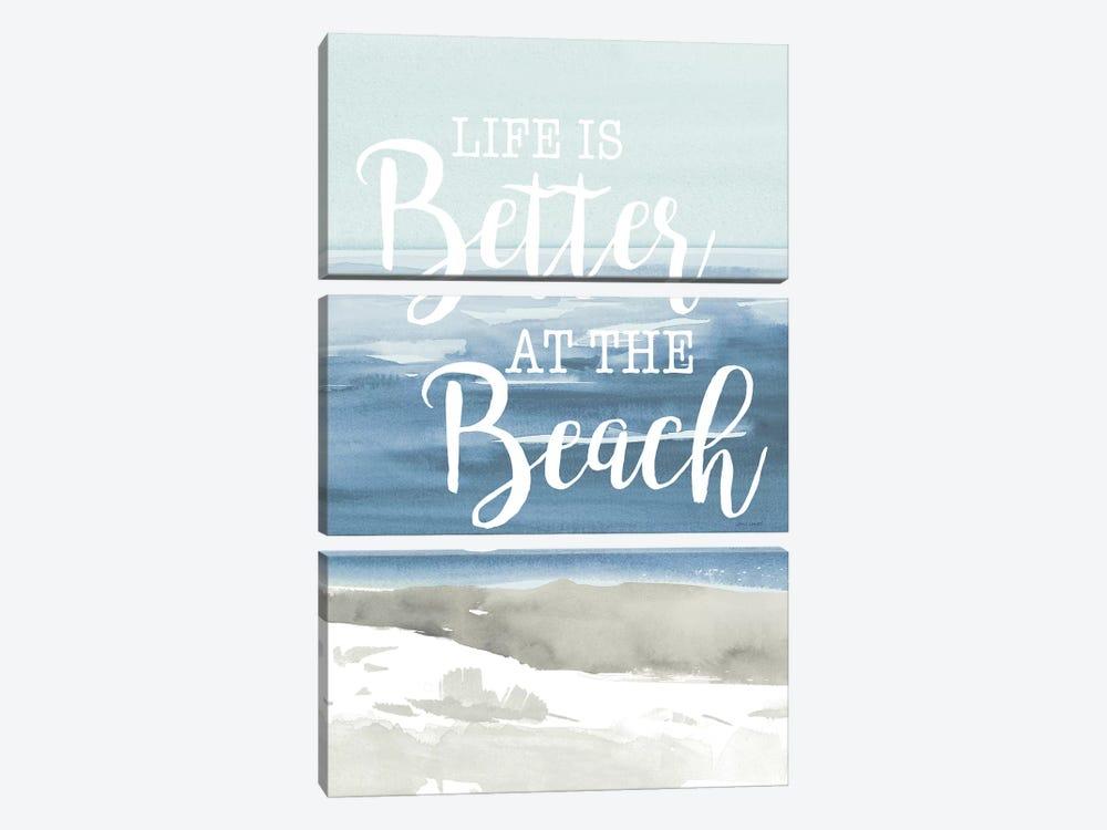 At the Beach by Lanie Loreth 3-piece Canvas Print