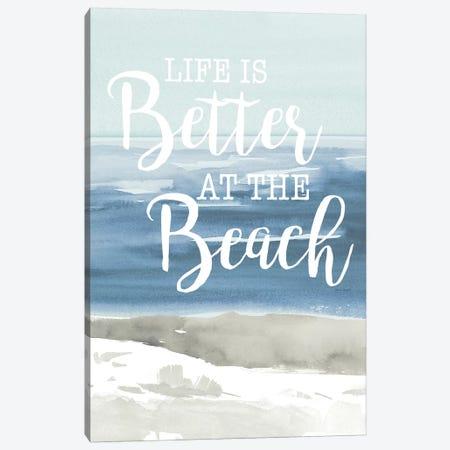 At the Beach Canvas Print #LNL8} by Lanie Loreth Canvas Print