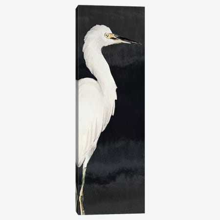 Heron on Black II Canvas Print #LNL91} by Lanie Loreth Canvas Art