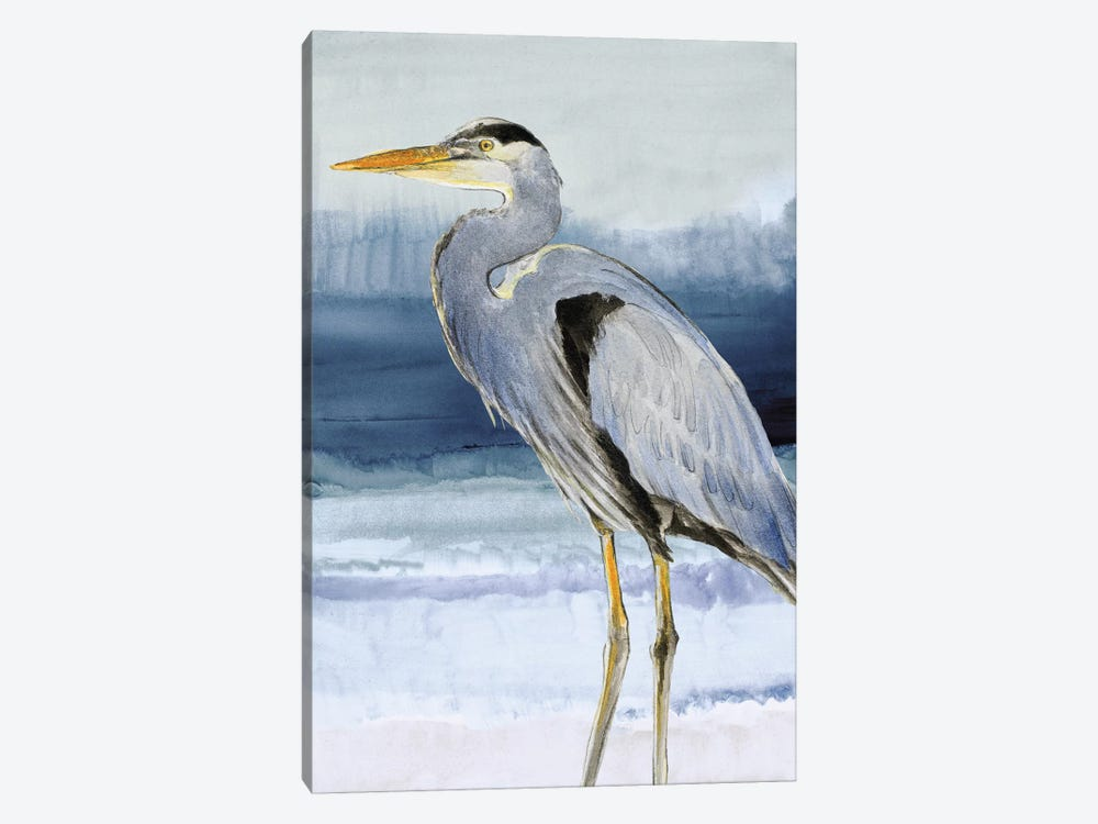 Heron on Blue I by Lanie Loreth 1-piece Canvas Art
