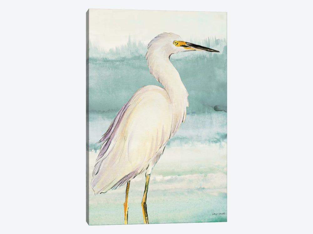 Heron on Seaglass II by Lanie Loreth 1-piece Art Print