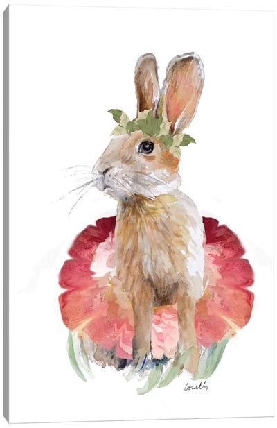 Ballet Bunny I Canvas Art Print