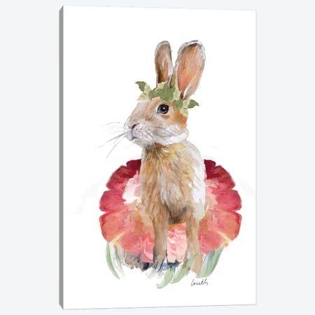 Ballet Bunny I Canvas Print #LNL9} by Lanie Loreth Art Print