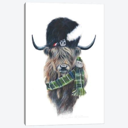 Gordon The Highland Coo Canvas Print #LNM10} by Lana Mathieson Canvas Print