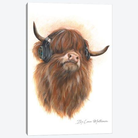 Highland Beats Canvas Print #LNM11} by Lana Mathieson Art Print