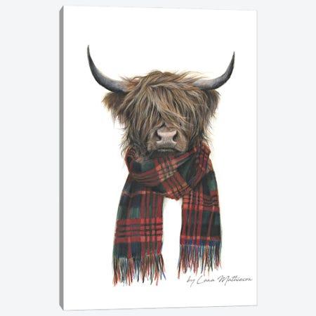 Highland Hipster Canvas Print #LNM13} by Lana Mathieson Art Print