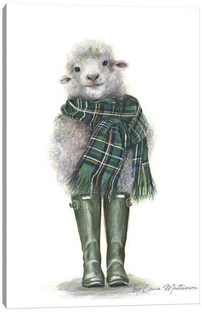Spring In Scotland Canvas Art Print