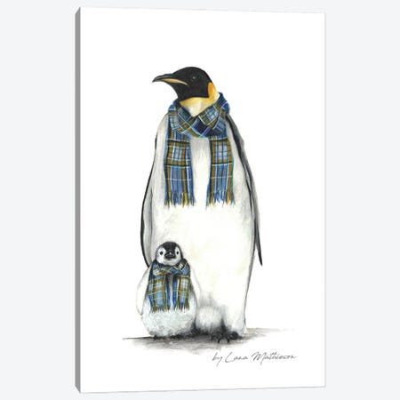 The Antarctic Clan Canvas Print #LNM26} by Lana Mathieson Art Print