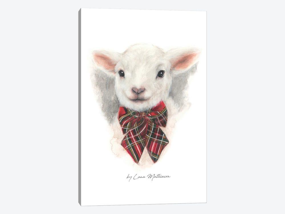 Wee Lamb by Lana Mathieson 1-piece Art Print
