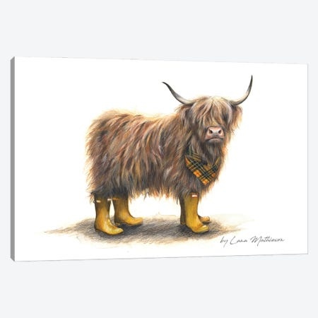 Welly Macleod Canvas Print #LNM40} by Lana Mathieson Canvas Art
