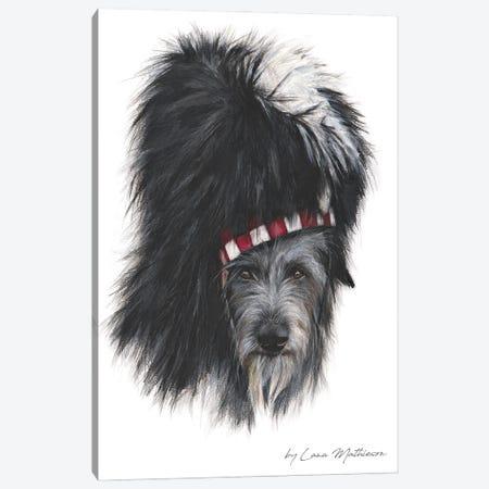 Bearskin Hat Deerhound Canvas Print #LNM44} by Lana Mathieson Art Print