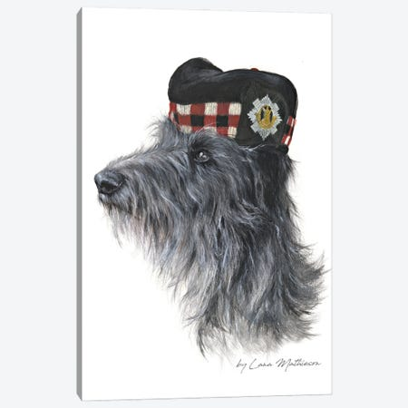The Royal Scots Deerhound Canvas Print #LNM58} by Lana Mathieson Art Print