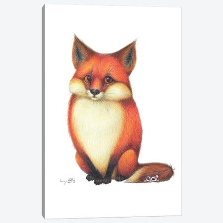 Foxy Friends Canvas Print #LNP17} by Lenny Pelling Canvas Print