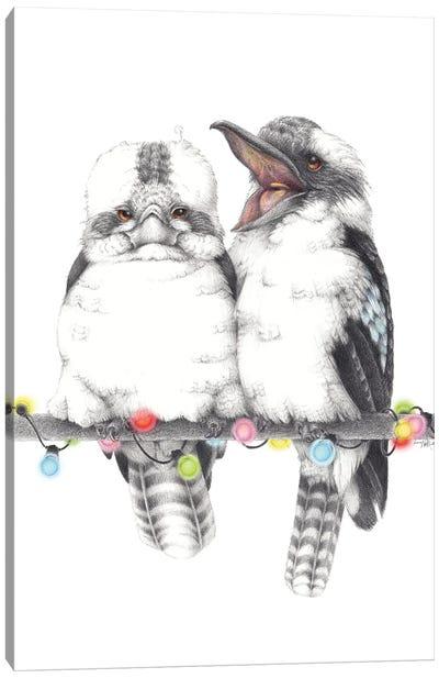 Kookaburra Party Canvas Art Print