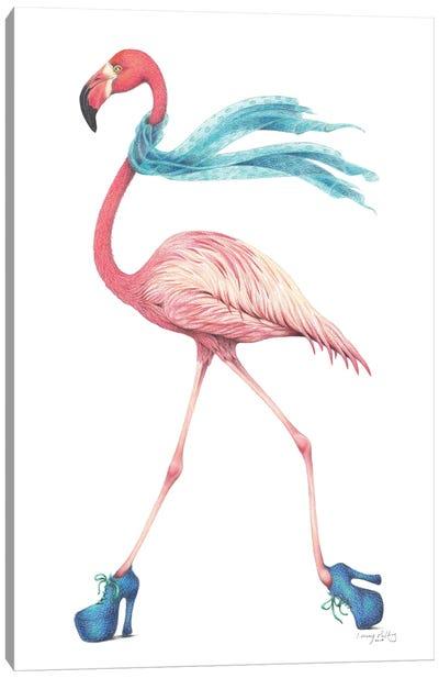 Strut Your Stuff Canvas Art Print