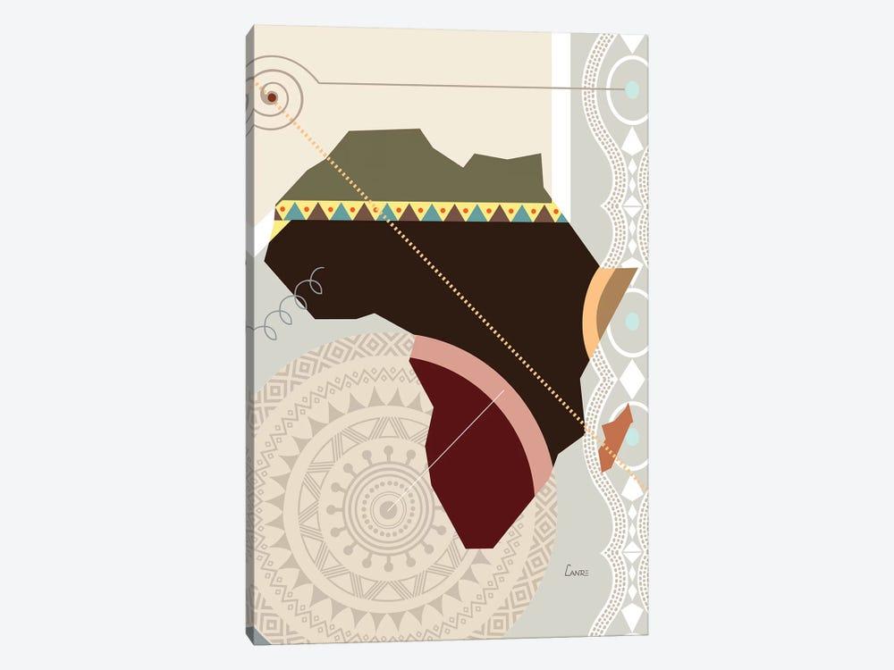 Afroville by Lanre Studio 1-piece Art Print