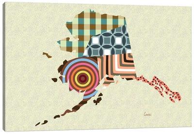 Alaska State Canvas Art Print