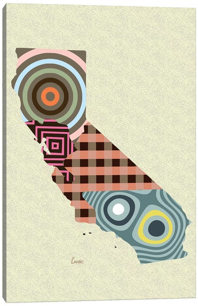 California State Canvas Art Print
