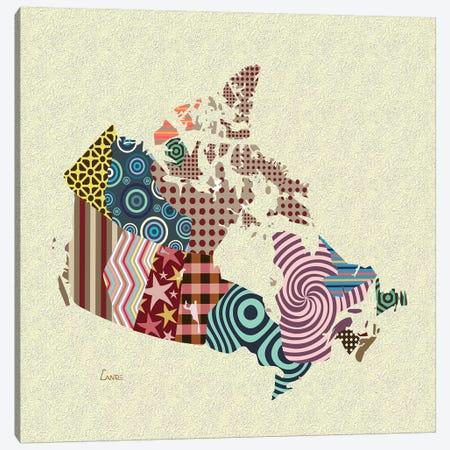 Canada Canvas Print #LNR109} by Lanre Studio Canvas Art