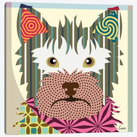 Australian Terrier Canvas Print #LNR10} by Lanre Studio Canvas Wall Art