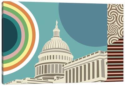 Capitol Building Washington Canvas Art Print