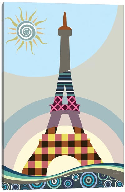 Eiffel Tower Canvas Art Print