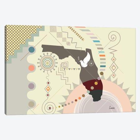 Florida Soaring Canvas Print #LNR118} by Lanre Studio Art Print
