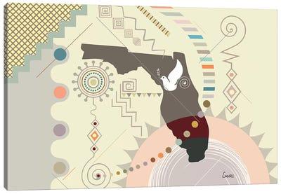 Florida Soaring Canvas Art Print