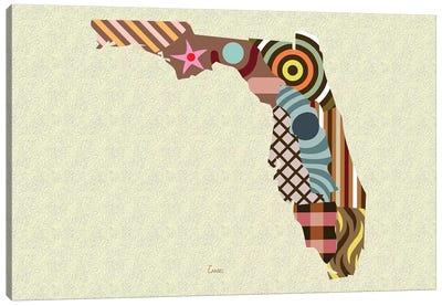 Florida State Canvas Art Print