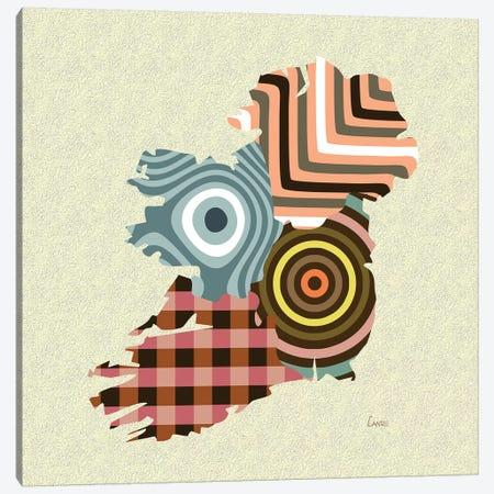 Ireland Canvas Print #LNR129} by Lanre Studio Canvas Artwork
