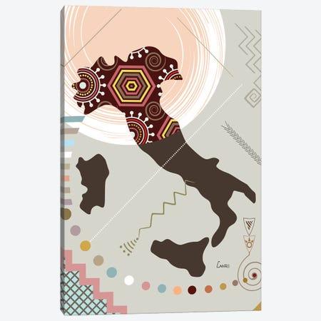 Italy Stylized Canvas Print #LNR131} by Lanre Studio Canvas Print