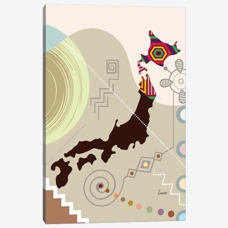 Japan Stylized Canvas Print #LNR132} by Lanre Studio Canvas Print