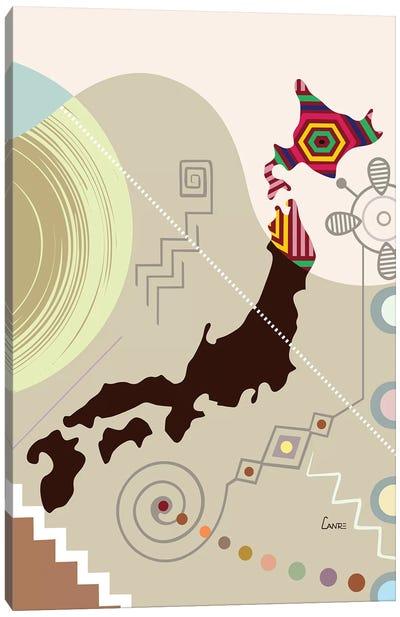 Japan Stylized Canvas Art Print