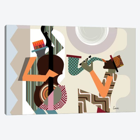 Jazz Quintet Canvas Print #LNR134} by Lanre Studio Canvas Art