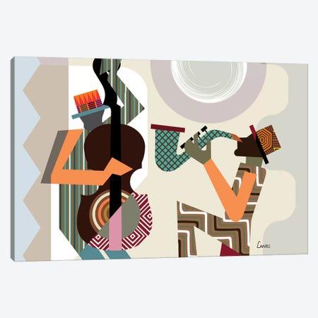 Jazz Quintet Canvas Print #LNR134} by Lanre Studio Canvas Art