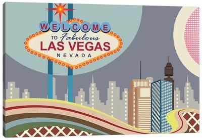 Las Vegas Strip Canvas Art Print