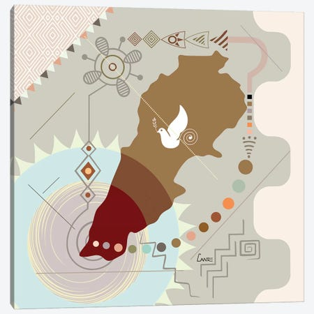 Lebanon Soaring Canvas Print #LNR138} by Lanre Studio Canvas Print