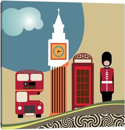 London Landmark Canvas Art Print