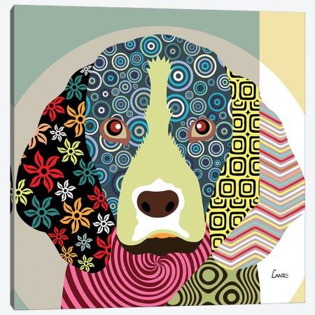 Beagle  Canvas Print #LNR13} by Lanre Studio Canvas Wall Art