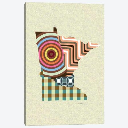 Minnesota State Canvas Print #LNR147} by Lanre Studio Canvas Art Print