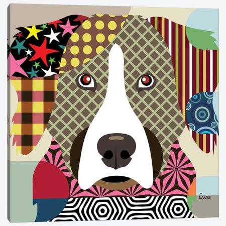 Bernese Mountain Dog Canvas Print #LNR15} by Lanre Studio Canvas Print