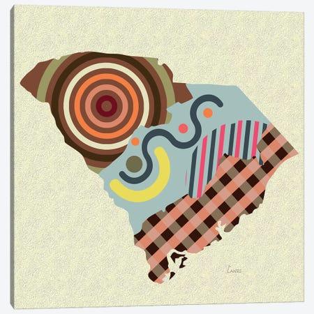 South Carolina State Canvas Print #LNR165} by Lanre Studio Canvas Print