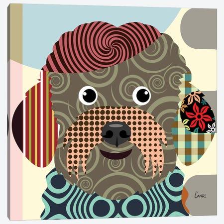 Bichon Frise Canvas Print #LNR16} by Lanre Studio Canvas Art Print