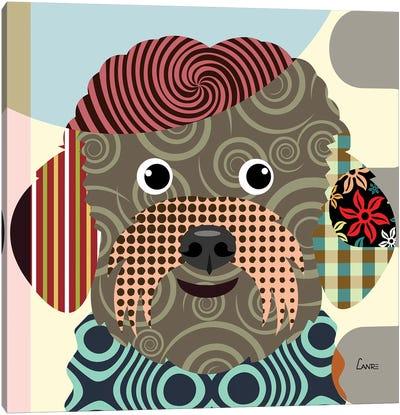 Bichon Frise Canvas Art Print