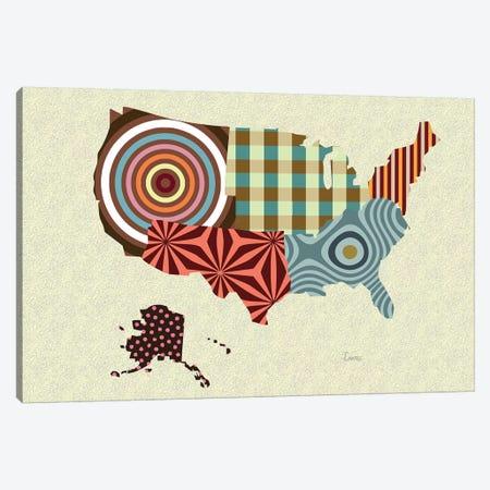 USA Canvas Print #LNR172} by Lanre Studio Canvas Print