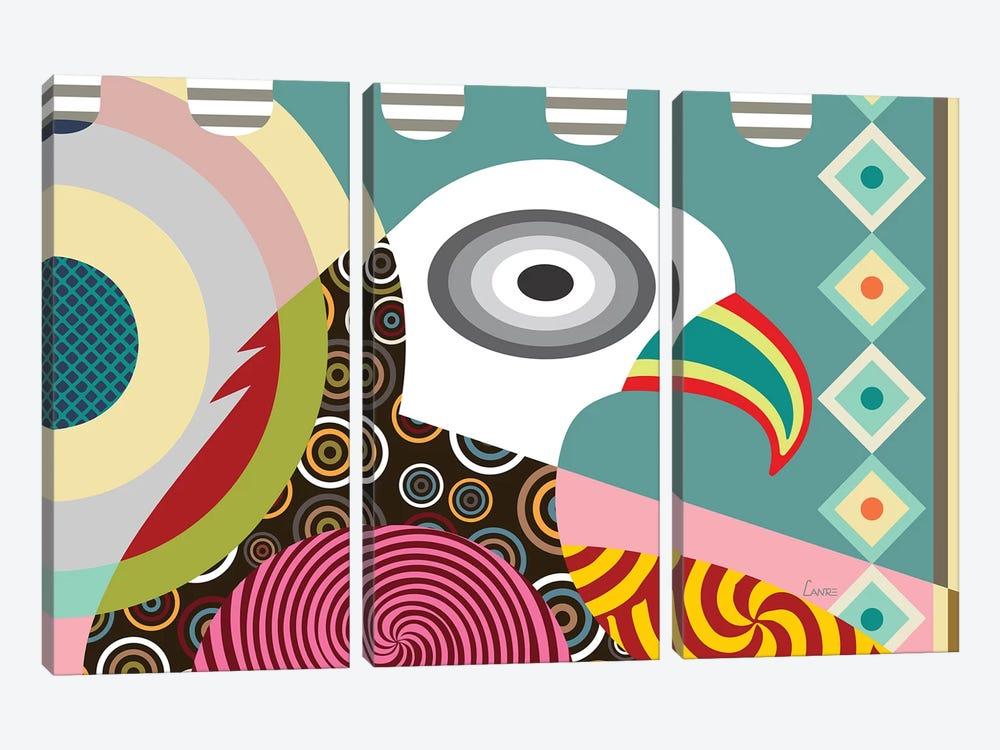 American Eagle by Lanre Studio 3-piece Art Print