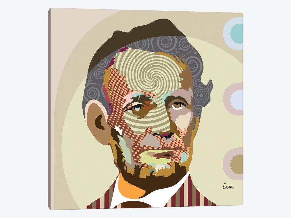 Abraham Lincoln by Lanre Studio 1-piece Canvas Artwork