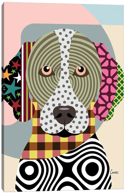 German Shorthaired Pointer Canvas Art Print