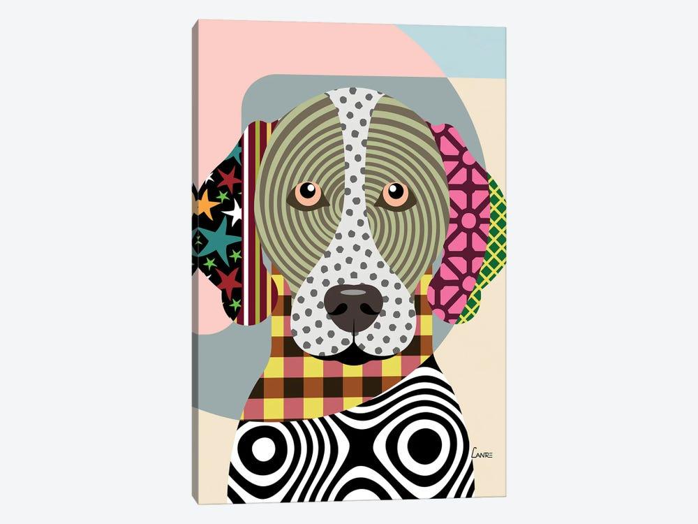 German Shorthaired Pointer by Lanre Studio 1-piece Art Print